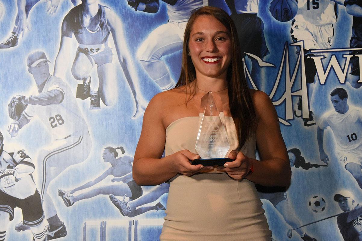 Cassie Nicholas, Mikey Renaud Captain_s Award