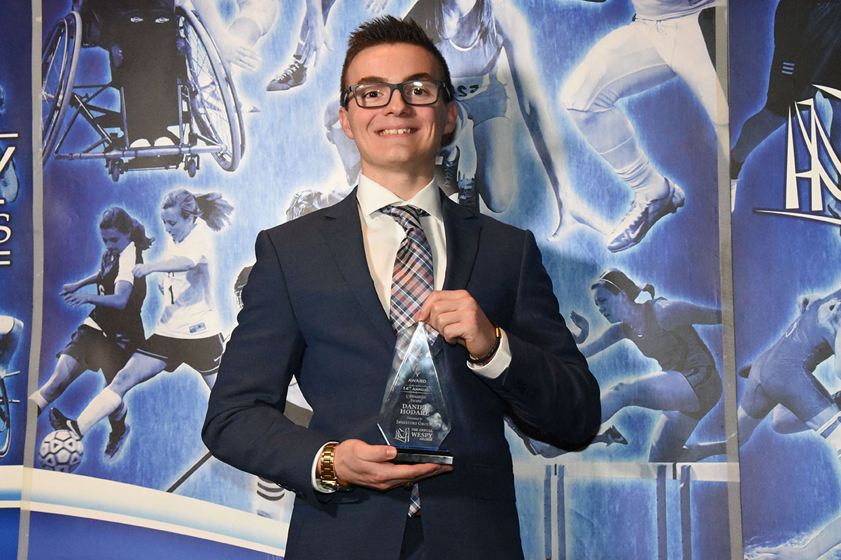 Gymnastics Award Daniel Hodare