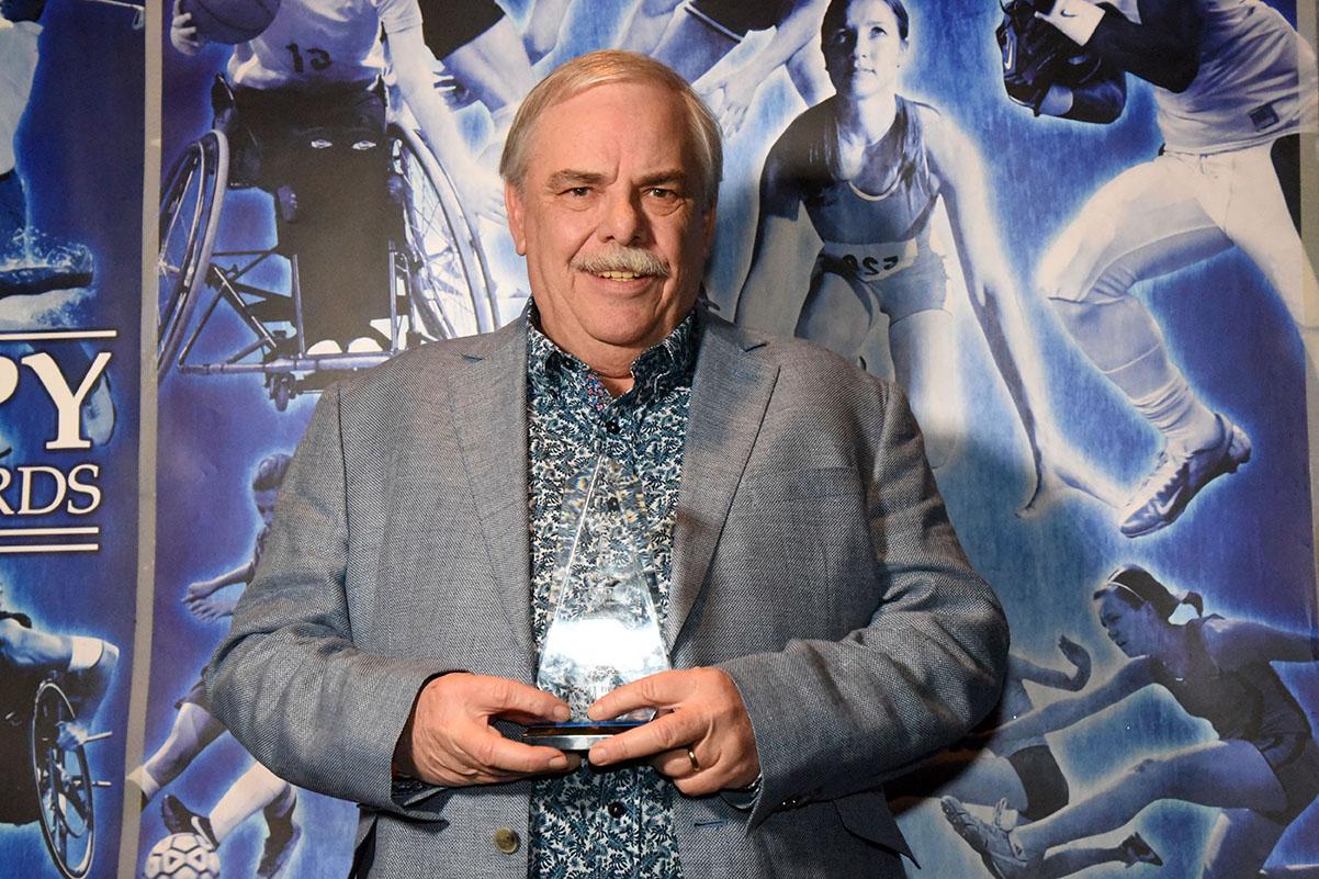 John DeNapali Sports Community Srvice Award Mike Dugal
