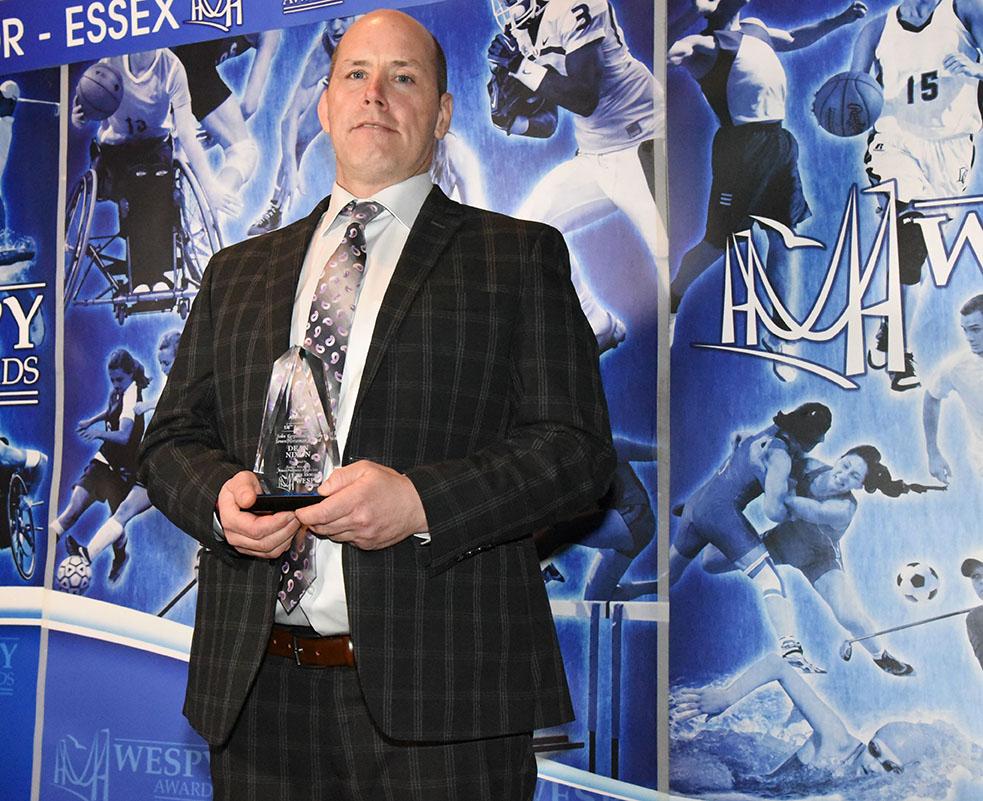 John Ferguson of Seven Horseman Award Dean Nixon