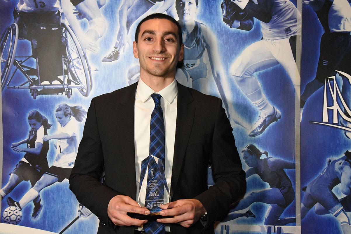 Male Basketball Award Mike Rocca