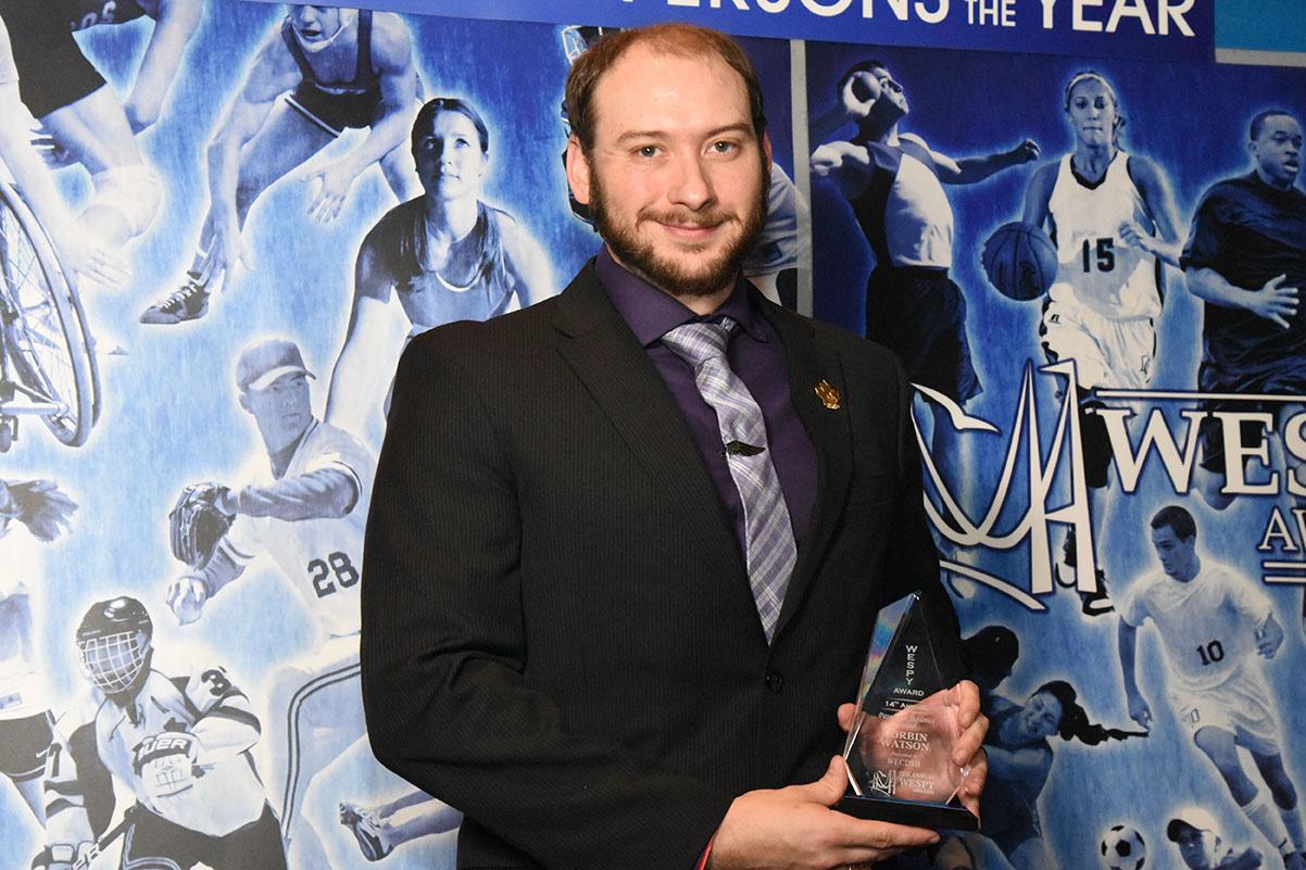 Parasport Athletics Award Corbin Watson